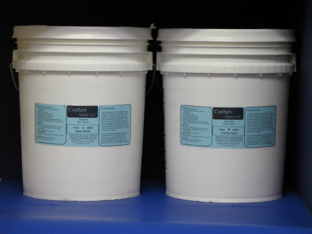 Rigid Epoxy Repair 600-1 (10 gallon set)