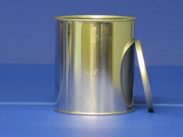 Quart Tin Can, lid