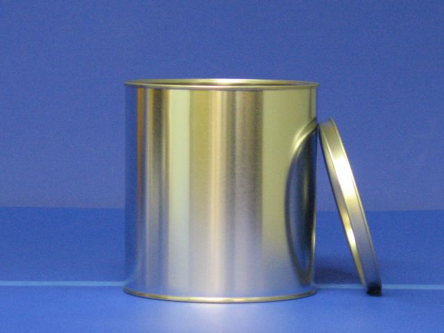 Half Gallon Tin Can, lid