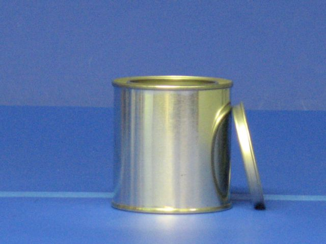 Half Pint Tin Can, lid