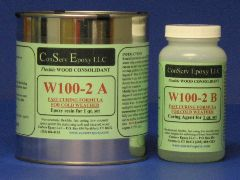 W100-2 Flexible Epoxy Consolidant Faster Curing - 1 quart