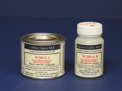 W200-6 Flexible Epoxy Patch Faster Curing, A, B, C, & D - 3 fl oz