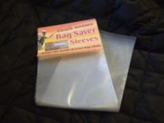 Bag Saver Sleeves for Caulk Warmer